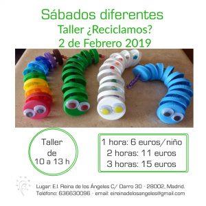 taller 2 febrero 2019 taller reciclamos