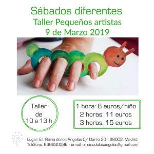 taller 9 marzo 2019 taller pequeños artistas