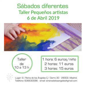taller 6 abril 2019 taller pequeños artistas